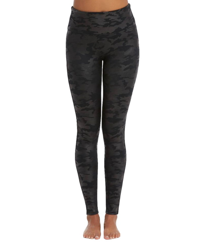 Spanx Faux Leather Camo Legging- 20185R-MTCMO