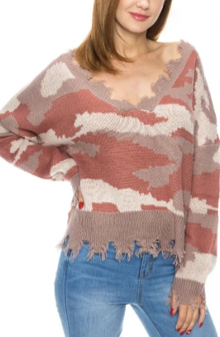 Stalk The Trend Sweater- X12011