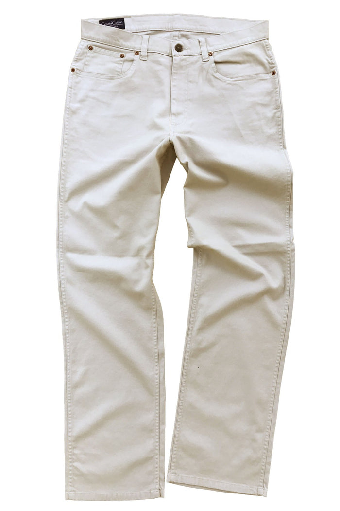 Coastal Cotton 5PKT Canvas Pant- Tan