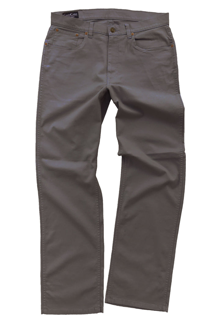 Coastal Cotton 5PKT Canvas Pant- Taupe