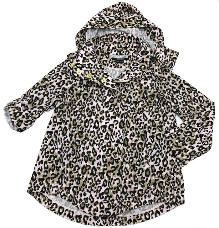 Nikki Jones Print Rain Cape