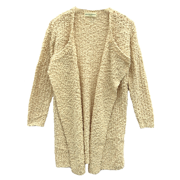 Come Fly With Me Popcorn Cardigan- 9867-IVORY