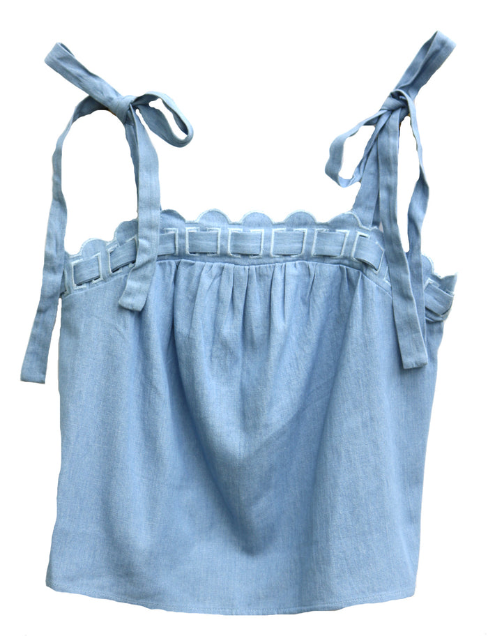 Chambray All Day Tank