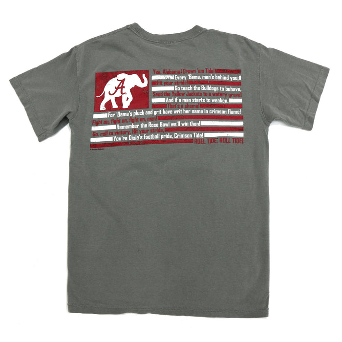 Alabama Fight Song Tee - 54646030-GRY