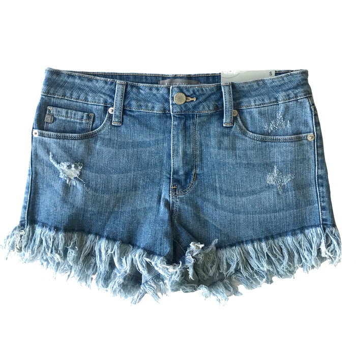 Frayed Just Right Short- JH020-LT.DEN