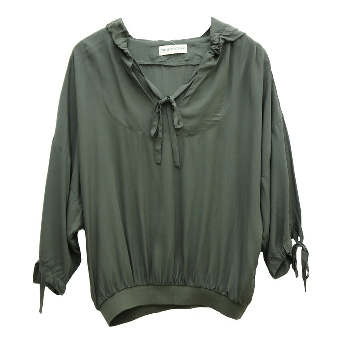Out And About Hoodie- Olive- S13895-OLV