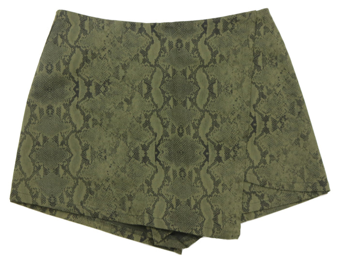 Look Your Way Skort- Olive- SS1866