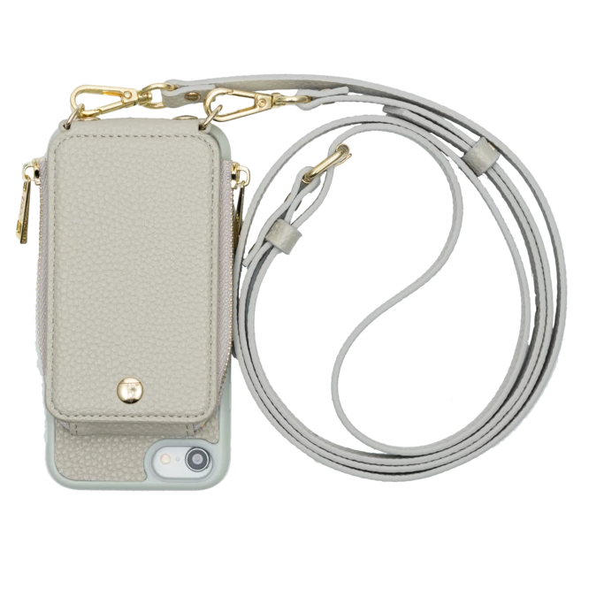 Iphone 6/7/8 Crossbody- Grey- TK-IP678-GY