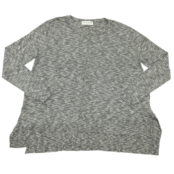 Let's Chillax Sweater- Charcoal- CH297-CHA
