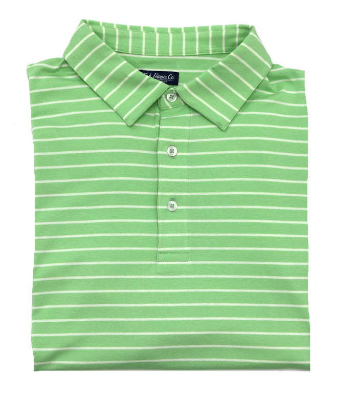 Fish Hippie Harper Stripe Polo