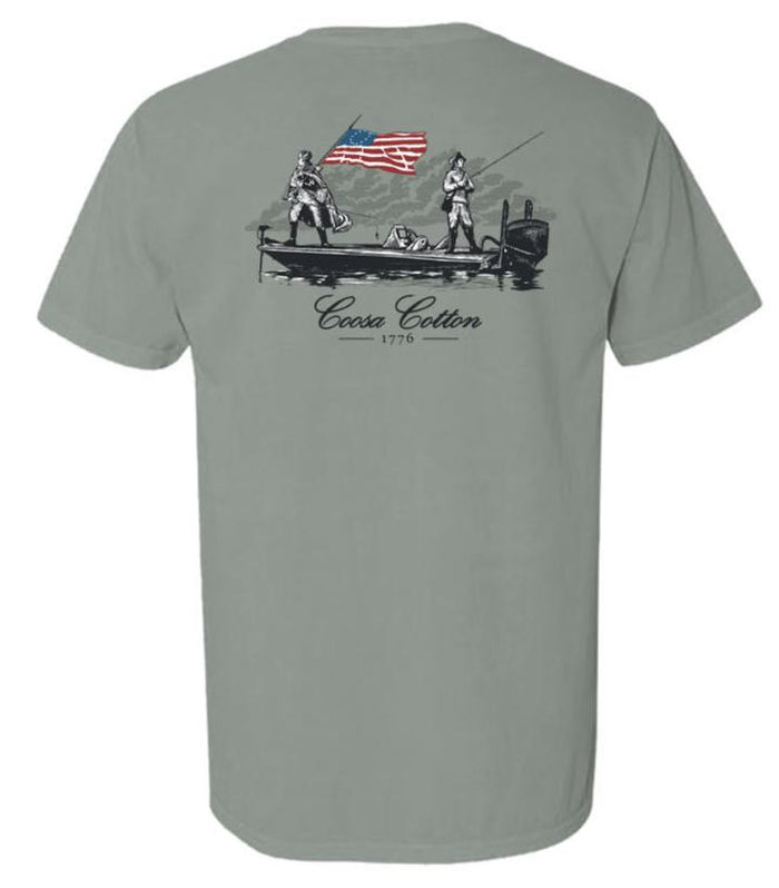 Coosa Cotton 1776 Pocket Tee Shirt