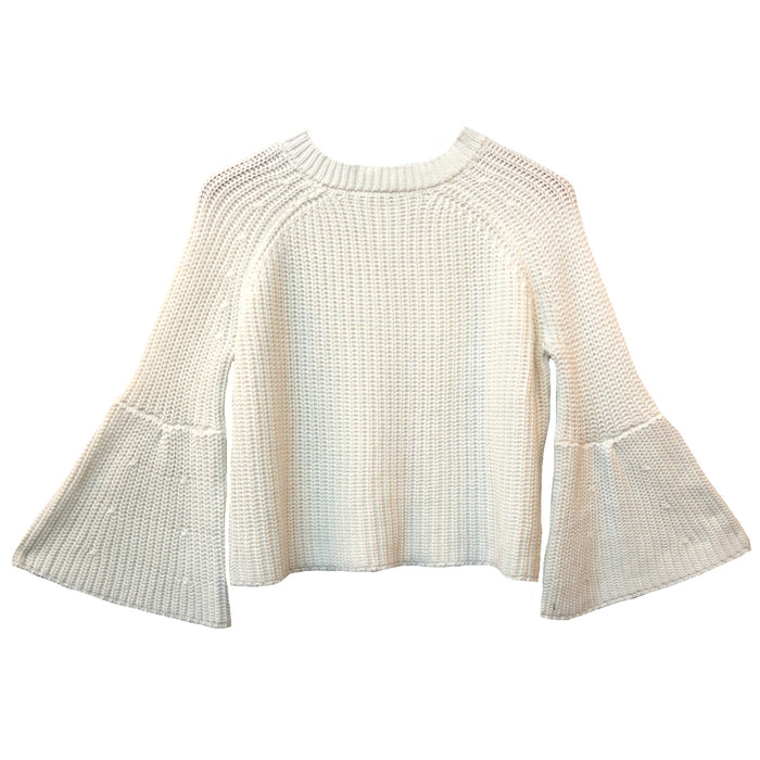 Around The Clock Sweater- 78-04LTL-IVORY