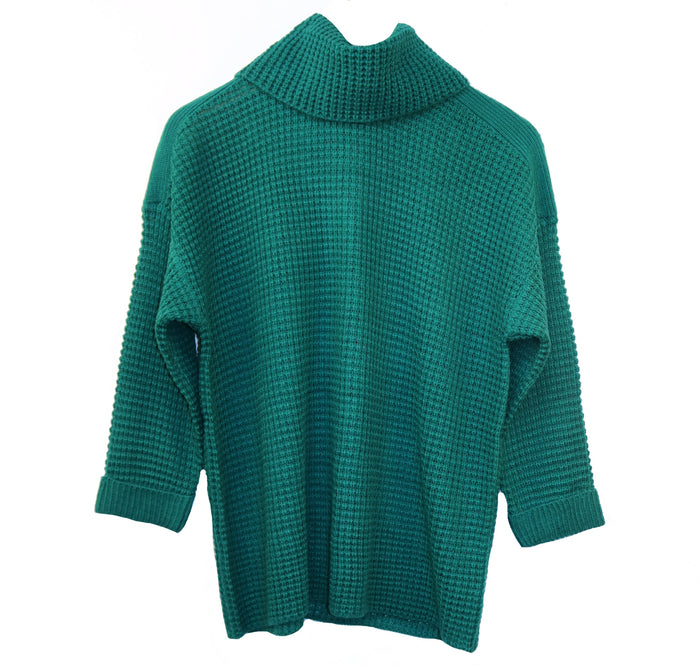 Jack Catchin Feels Sweater- Everglades Green- JI306381-EVE