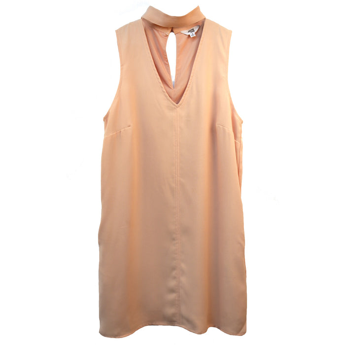 Jack Momsen Keyhole Dress- Dusty Rose