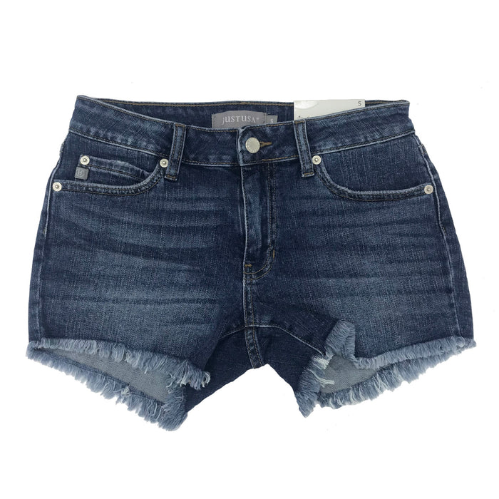Carpe Denim Short- JH021-MED. DEN
