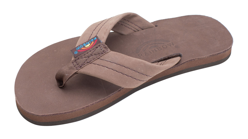 Youth Rainbow Single Layer Thick Strap Sandal