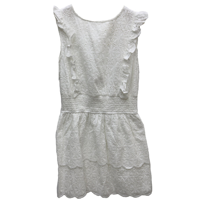 I Love Lace Dress- BD1083-WHT