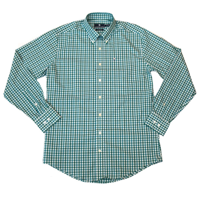 Southern Shirt Company Lakeview Gingham- Biscay Bay