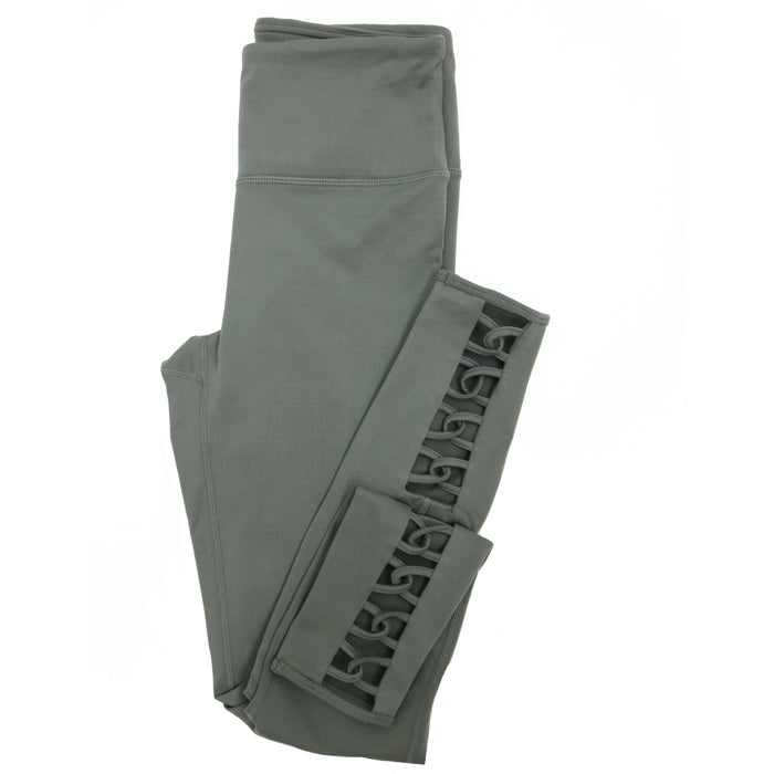 See You At Pilates Highwaist Legging- Green- APH2355-GRN