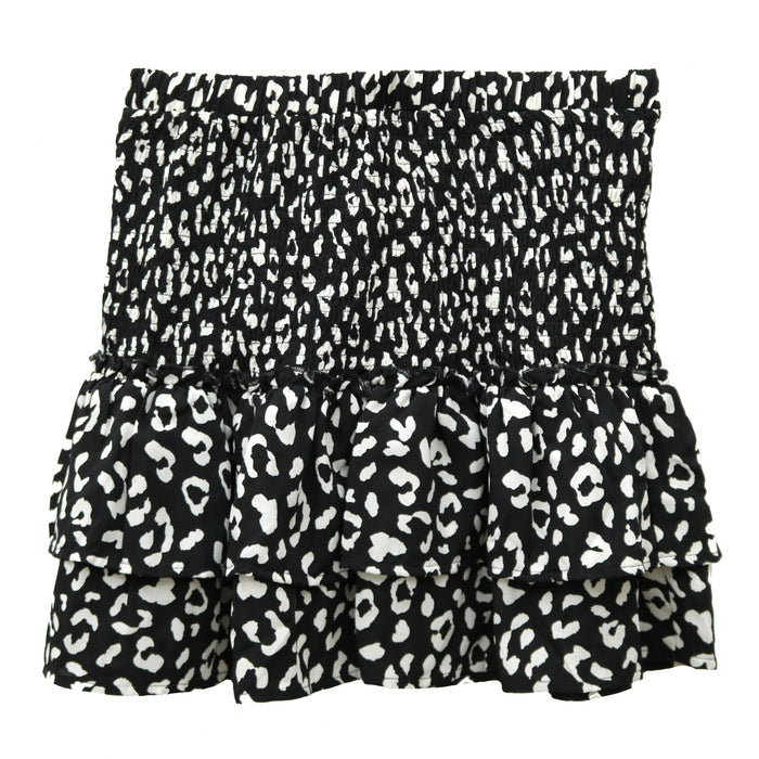 Spot On Smocked Skirt- CS3311-BLK