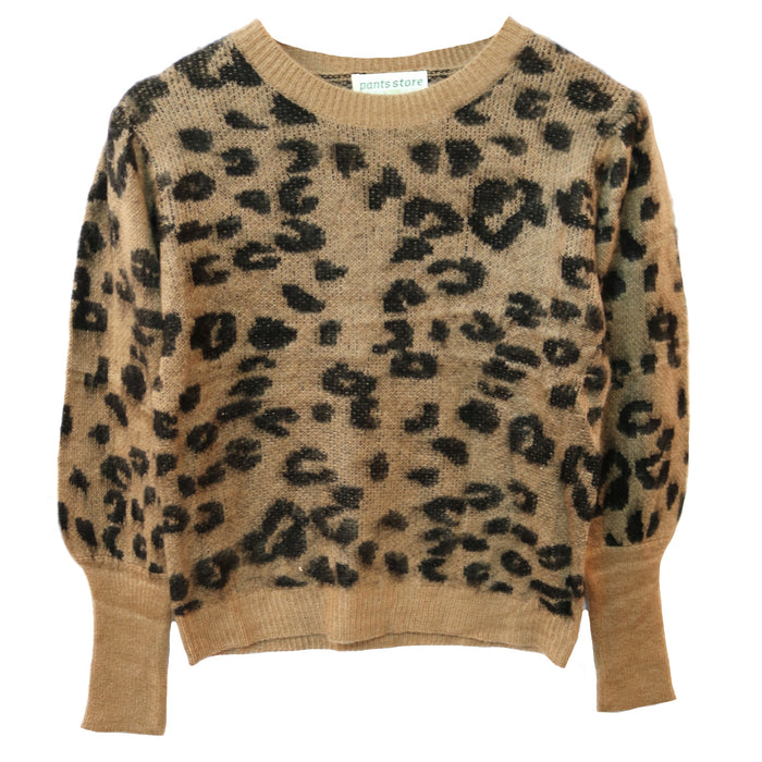 Seeing Spots Leopard Sweater- YB16972-LEO