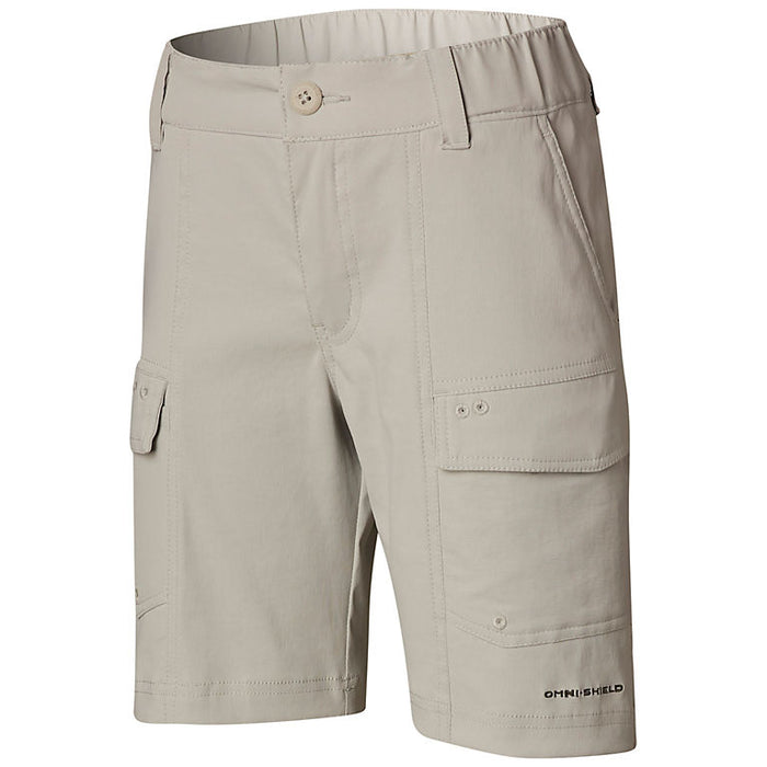 Columbia Youth Low Drag Short- Cool Grey 019 - LOW DRAG SHORT YOUTH-COO