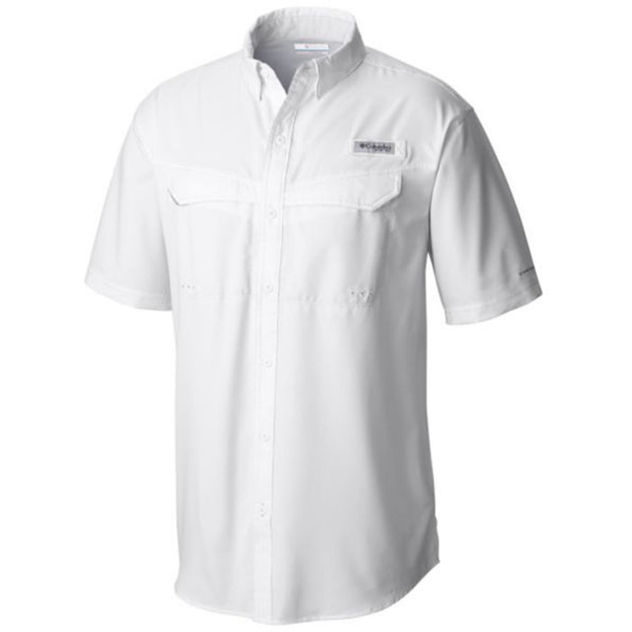 Columbia PFG Low Drag Offshore Short Sleeve Shirt - White
