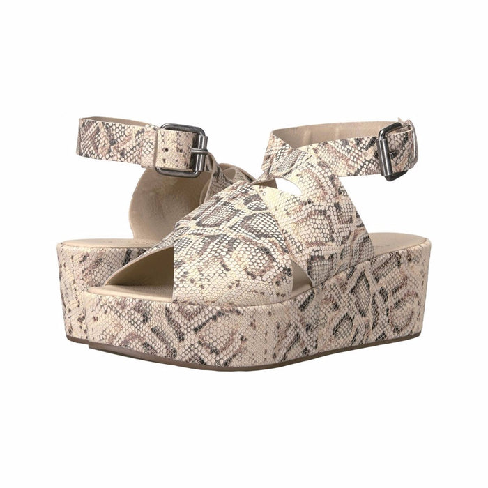 Matisse Runaway Platform Wedge- Natural