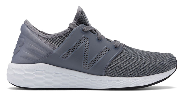 Men's New Balance MCRUZRG2- Gunmetal/White