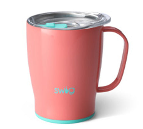 Swig Coffee Mug 18oz- Melon- S101-C18-ML