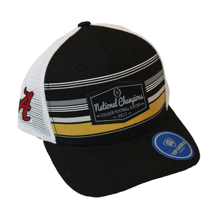 Alabama National Champions Trucker Hat- Black