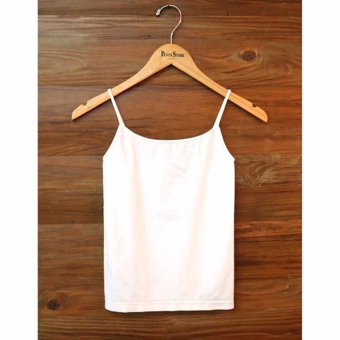 Short Length Layering Tank- White