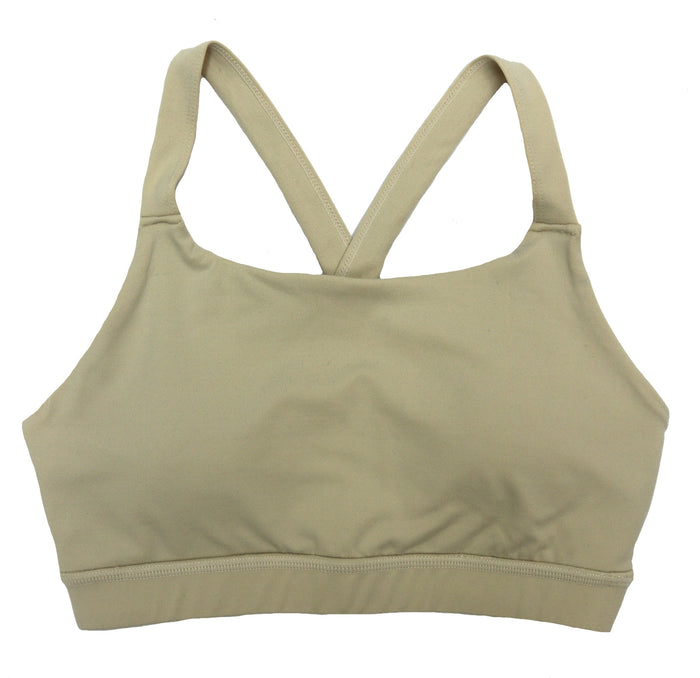 Nothing But Neutrals Sports Bra- Natural- AT2125-NAT