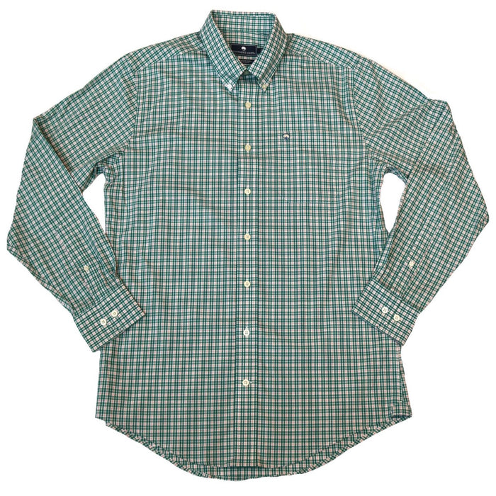 Southern Shirt Company Pintail Plaid- Wintergreen