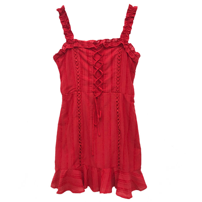 Summer Breeze Dress- IBD95131-RED