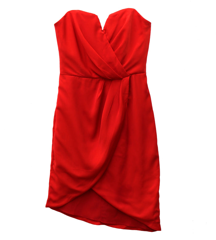 Let's Get Fancy Dress- GY0240-RED