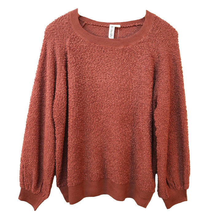 Others Follow Miles Sweater- Sienna- OW184960-SIE