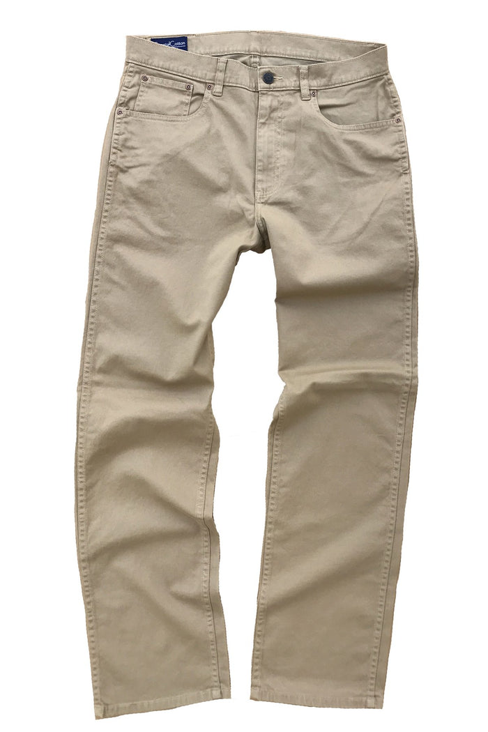 Coastal Cotton 5PKT Stretch Pant- Sand