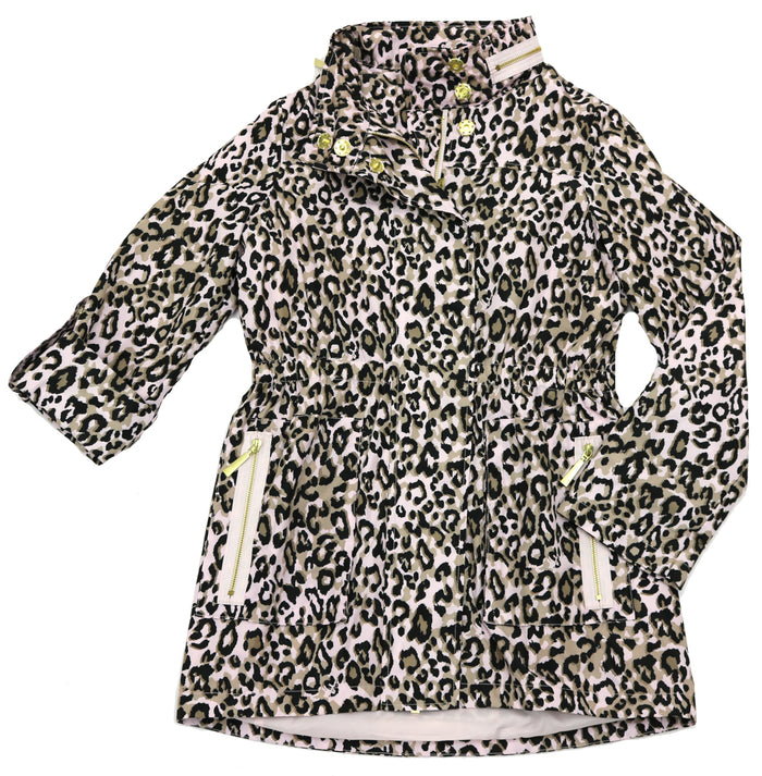 Nikki Jones Print Raincoat