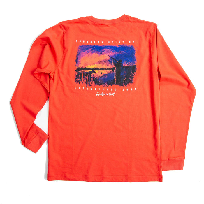 Southern Point Signature L/S Tee - SLT-385