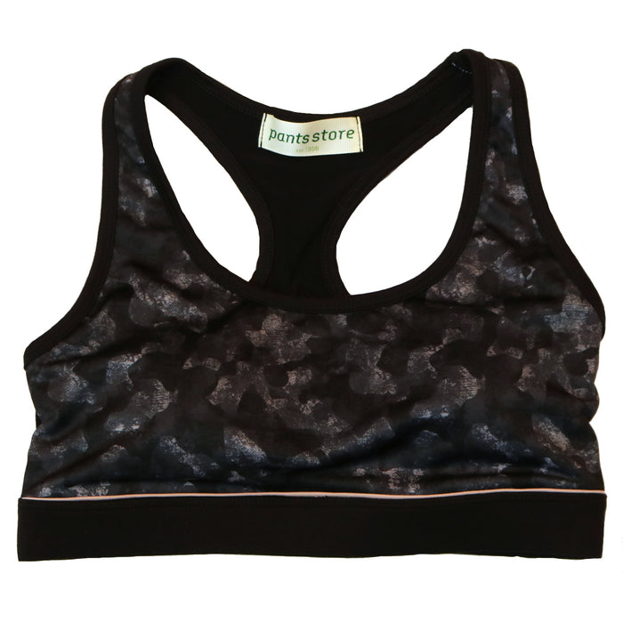 Catch Me If You Can Sports Bra- AT6126-BLK