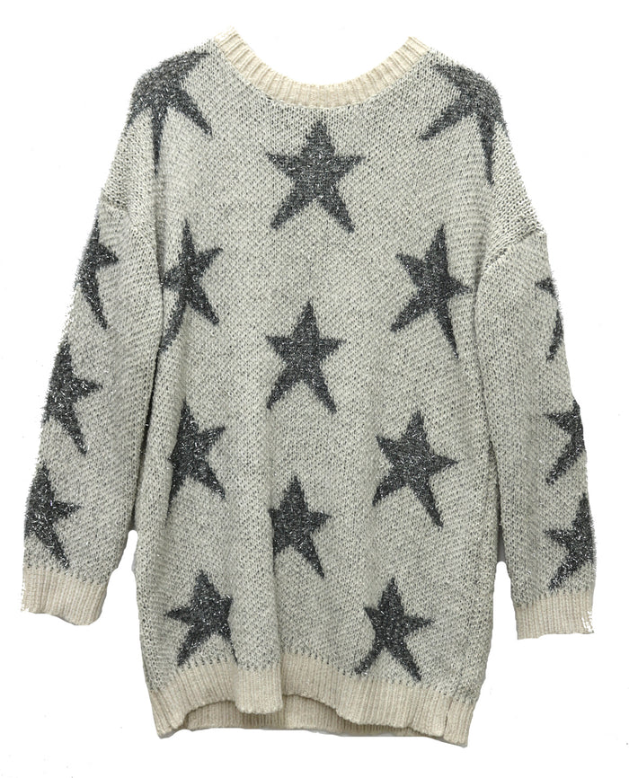 Blanket Of Stars Sweater- T8302A