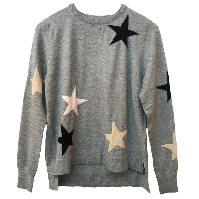 A Star Is Born Sweater- TMK790-GRY