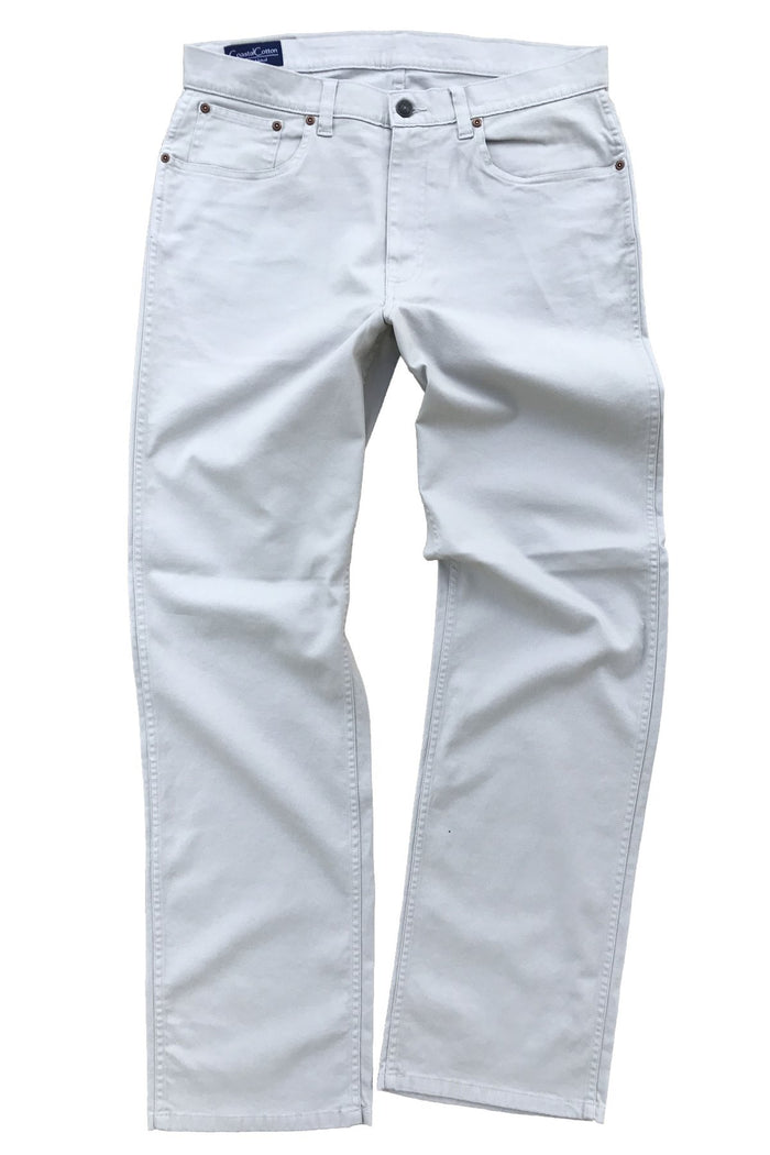 Coastal Cotton 5PKT Stretch Pant- Stone