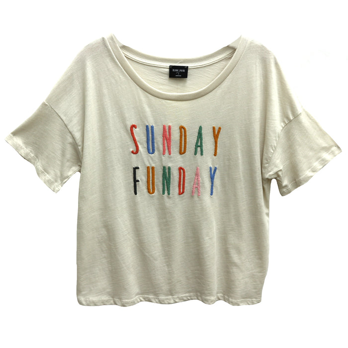 Sunday Funday Tee- BP518-CLY