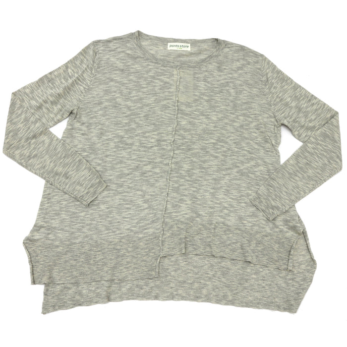 Let's Chillax Sweater- Grey- CH297-GRY
