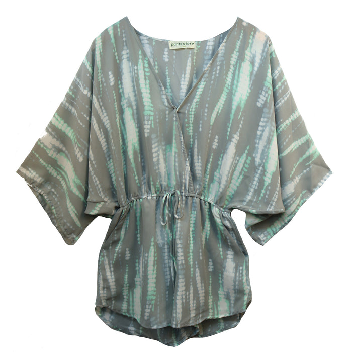 Take Me To Cabo Romper- Sage/ Mint