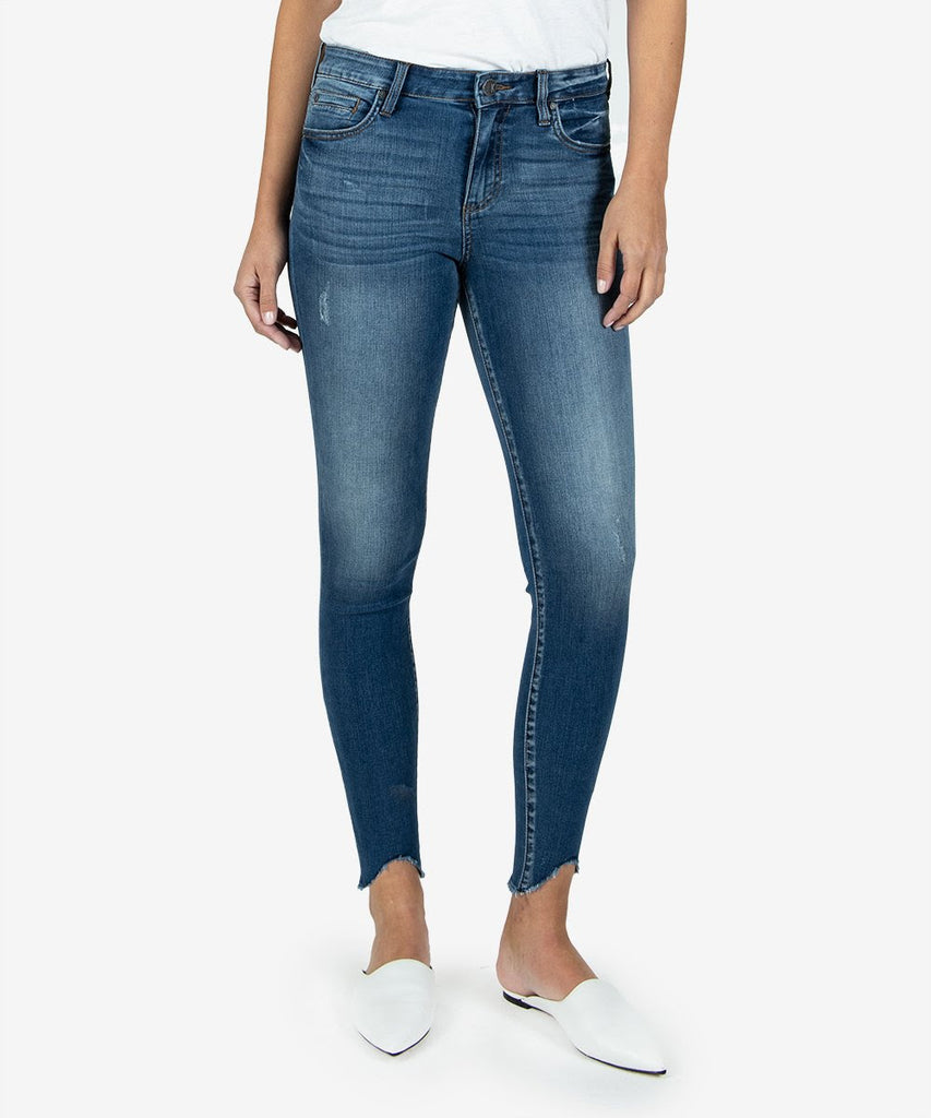 Kut Connie High Rise Ankle Skinny