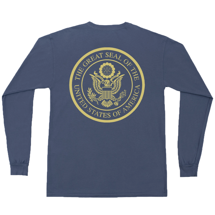 The State Company US Seal L/S Tee- Navy- US SEAL L/S-NVY