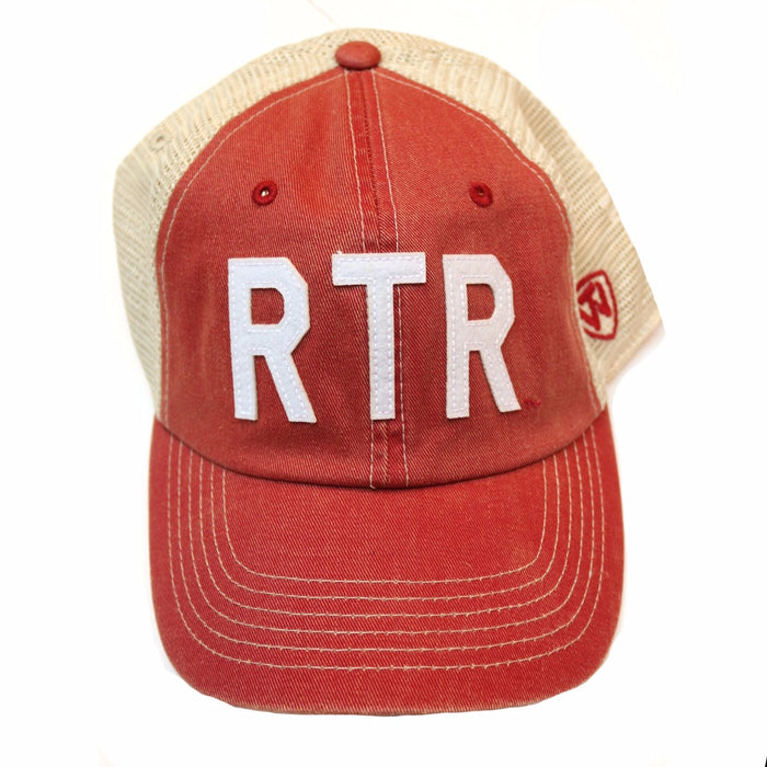 RTR Trucker Hat- Crimson